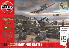 Battle of Britain Ready for Battle Gift Set w/paint & glue