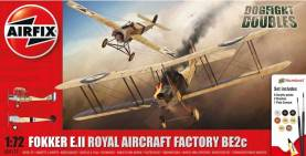 WWI Fokker E.II and BE2C Dogfight Doubles Gift Set