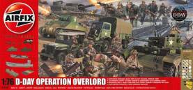 D-Day Operation Overlord Gift Set w/paint & glue