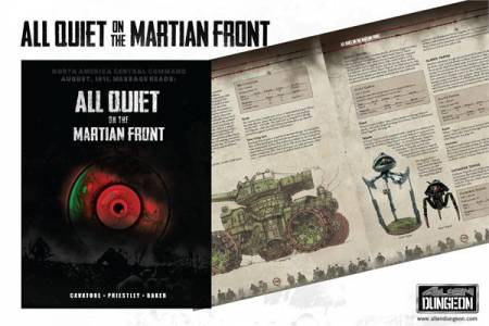 All Quiet On The Martian Front Hardcover Rulebook