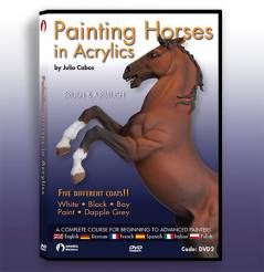 Andrea DVD- Painting Horses in Acrylics
