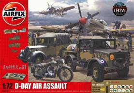 D-Day The Air Assault Gift Set w/Paints & Glue