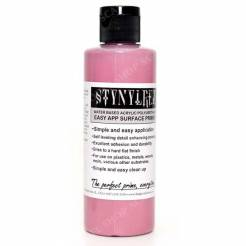 Stynylrez Water-Based Acrylic Primer Dull Pink 4oz. Bottle
