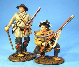 BATTLE ON THE MONONGAHELA 1755 - CIVILIAN WAGONEERS #BAL-01 - 1 AVAILABLE OOP