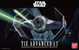 Star Wars A New Hope: Darth Vaders Tie Advanced x1 Starfighter