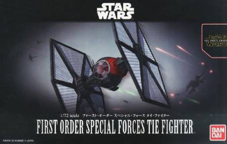 Star Wars The Force Awakens: First Order Special Forces Tie Fighter