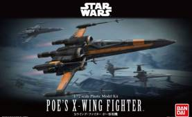 Star Wars the Force Awakens: Poes X-Wing Fighter