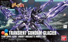 Build Fighters High Grade Series: #050 Transient Gundam Glacier