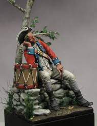 Continental Army drummer, American War of Independence