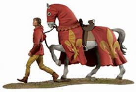 The Lance 1330s: War Horse and Page