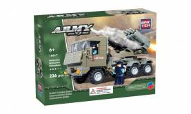 Army Rocket Launcher Military Justice Vehicle
