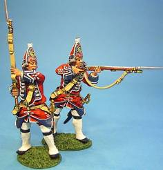 JACOBITE REBELLION - BRITISH GRENADIERS #BJ-06 - 1 AVAILABLE OOP