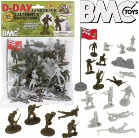 D-Day Juno Beach German & Canadian Figure Playset
