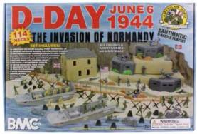 WWII D-Day: The Invasion of Normandy Boxed Playset