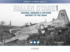 Aircraft Pictorial Series 1: Fallen Stars 1 Crashed, Damaged & Captured Aircraft of the USAAF