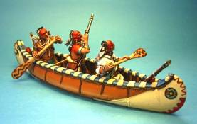 WOODLAND INDIAN CANOE #CAN-01 - 1 AVAILABLE OOP