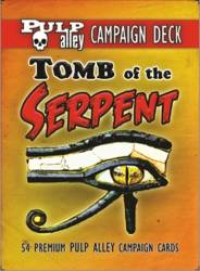 Pulp Alley - Tomb of the Serpent Campaign Deck