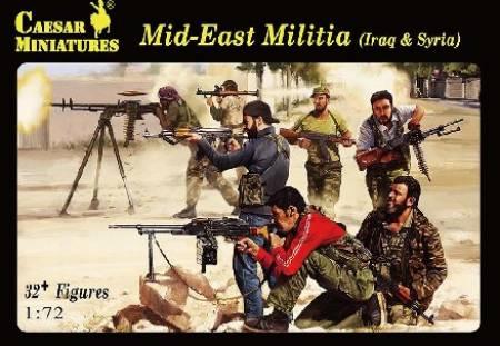 Michigan Toy Soldier Company : Caesar Miniatures - Mid-East Milita
