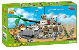 Small Army Series: Panzer Tank With Troops