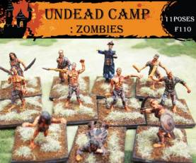 Fantasy Series: Undead Camp Zombies