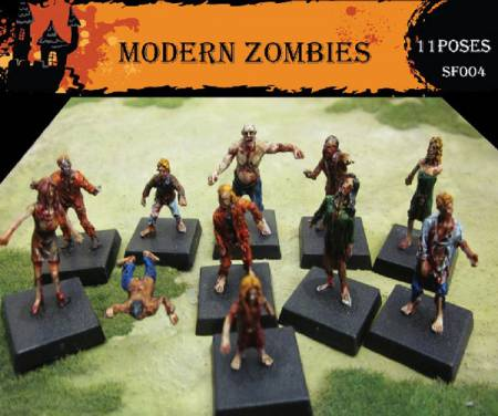 Fantasy Series: Modern Zombies