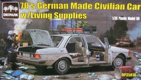1970s German Made Civilian Car w/Living Supplies