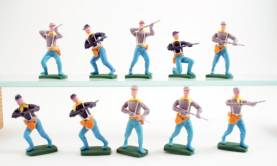 Plastoy Hong Kong Copies ACW Figures