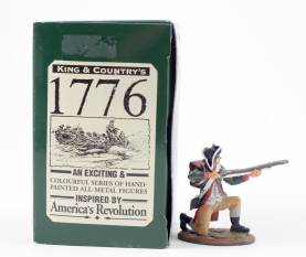 King & Country 1776 American Revolution Continental Marine Kneeling #AR23 NIB 1 Available OOP