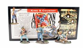 King & Country ACW Stars And Bars Confederate Infantry #ACW07 NIB 1 Available OOP