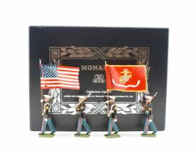 Monarch Miniatures/TedToy USMC Colour Party #10 Gloss Finnish NIB 1 Available OOP