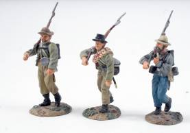 Conte Collectibles ACW Confederate Infantry Advancing 1 Available OOP