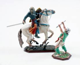 Saxon vs. Norman ref.3119-3126-1 Available OOP