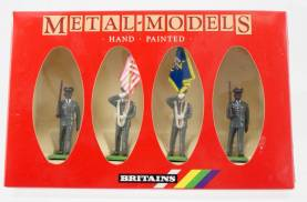 Britains 7306 US Army Colour Party