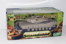 Unimax Bravo Team U.S. M1A1 Abrams Desert Tan 1:32 #70005 NIB- OOP 1 Available