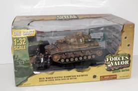 German WWII Panzer IV AUSF F 1:3- OOP 1 Available
