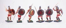 Studio Niena Russia Ancient Greeks With Spear And Shield #2