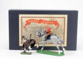 90th Deadly Encounter Zulu War #Z/73 Grey Horse 3 Available OOP