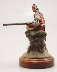 Hawkeye Woodland Indian 1760
