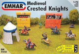 Medieval Crested Knights