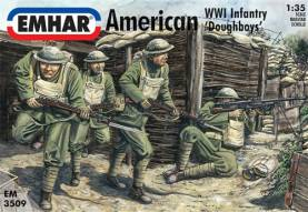 WWI American Infantry Doughboys