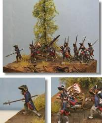 Prussians on The March 1756-1763 - Fusiliers