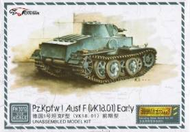 PzKpfw I Ausf F Early Tank