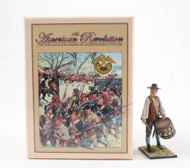 First Legion AWI Colonial Drummer 1 Available OOP