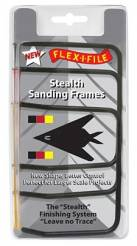 Flex-I-File Stealth Sanding Frames - Set of 3