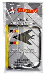 Flex-I-File Stealth Sanding Frame - Single Frame