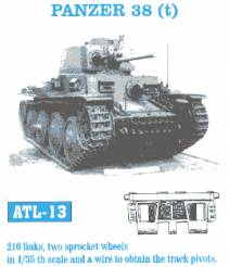 Panzer 38(t) Track Set (210 Links)