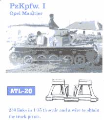 PzKpfw I Opel Maultier Track Set (230 Links)
