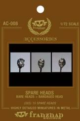 Spare Heads Bare Heads - Bandaged Head