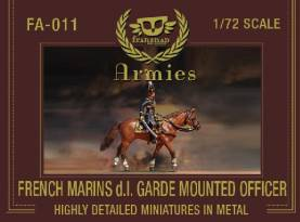 French Marins de la Garde Mounted Officer