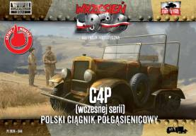 C4P Polish Artillery Halftrack Tractor Early Production